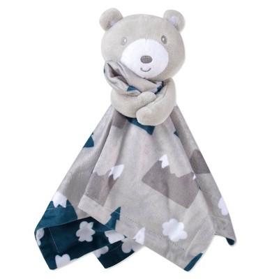 Baby Essentials Bear Mountain Scene Security Blanket