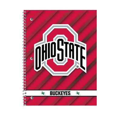 "NCAA Ohio State Buckeyes 10.5""x8"" Spiral Notebook"