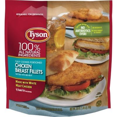 Tyson Chicken Breast Fillets - Frozen - 25oz