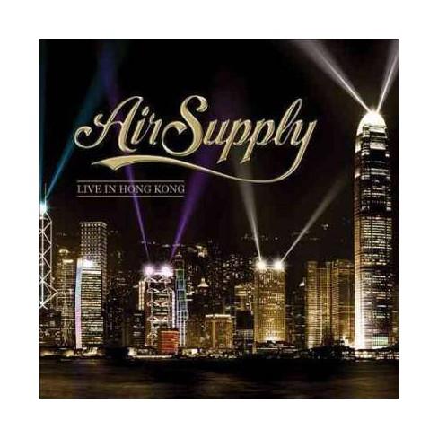 Air Supply - Air Supply: Live in Hong Kong (CD) - image 1 of 1