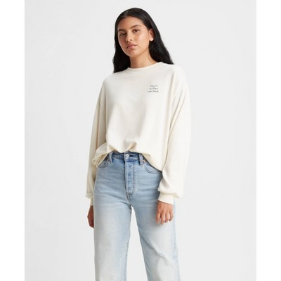 Levi's® Women's Vintage Sweatshirt - Tofu