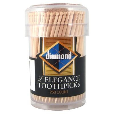 Diamond L'Elegance Toothpicks - 250ct