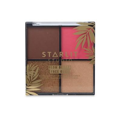 Starlit Studio Face Quad Glow Getter - Peachy Keen - 4oz