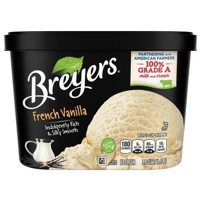 Breyers Original French Vanilla Ice Cream - 48oz