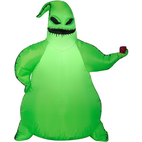 Gemmy Airblown Green Oogie Boogie Disney, 3.5 ft Tall, green - image 1 of 2
