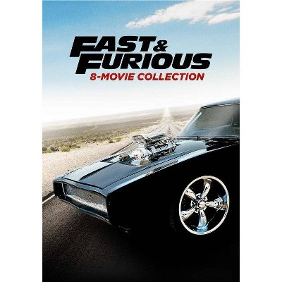 Fast and the Furious 8 Movie Collection (DVD)