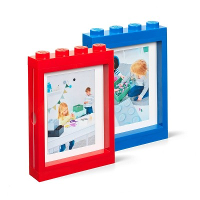 LEGO Picture Frame Set Red/Blue