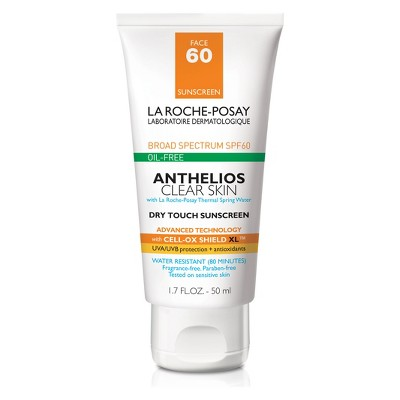 Sunscreen & Tanning: La Roche Posay Anthelios Clear Skin