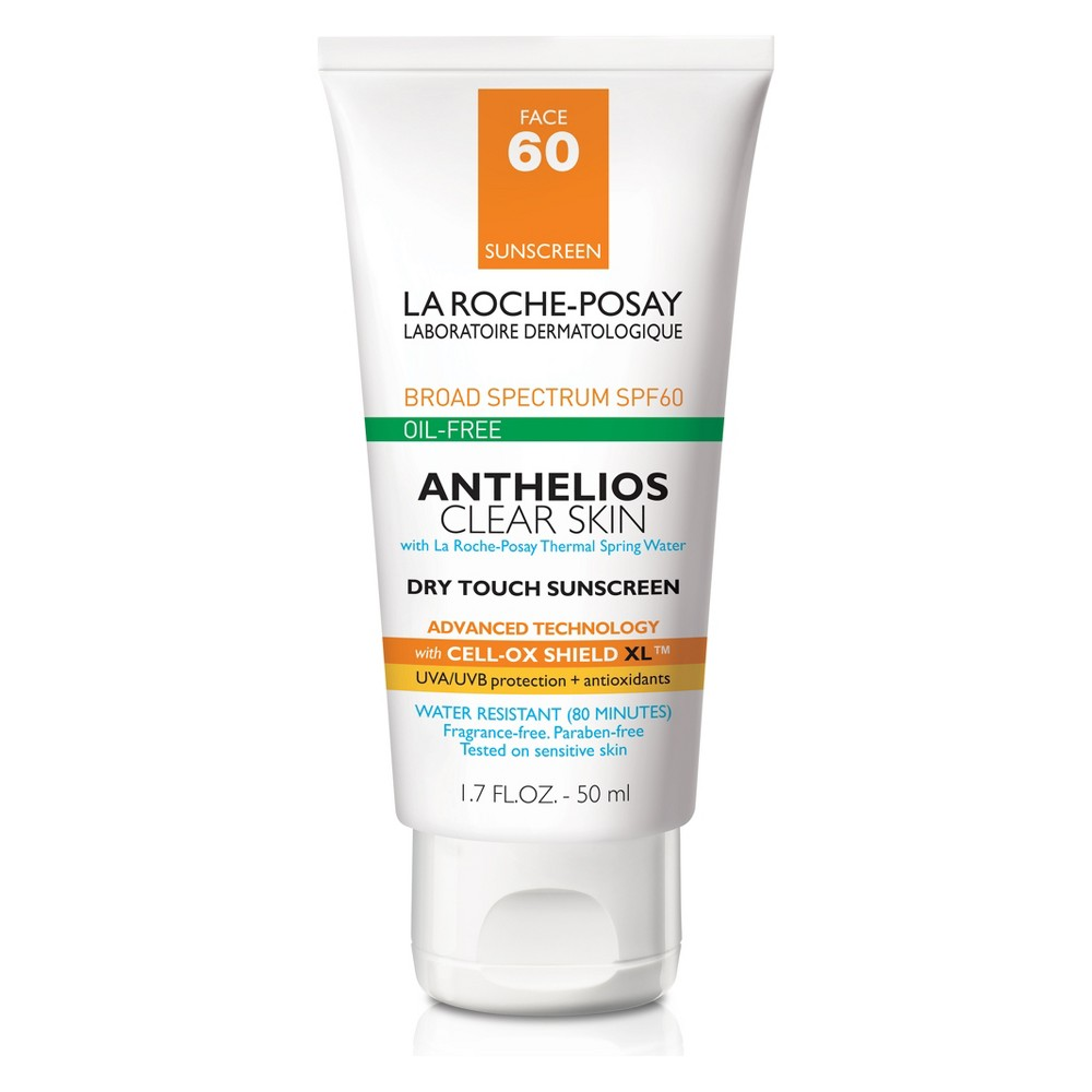 Image of La Roche Posay Anthelios Clear Skin Oil Free Dry Touch Sunscreen Lotion - SPF 60 - 1.7oz