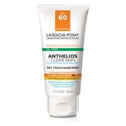 La Roche Posay Anthelios Clear Skin Oil Free Dry Touch Sunscreen Lotion - SPF 60 - 1.7oz