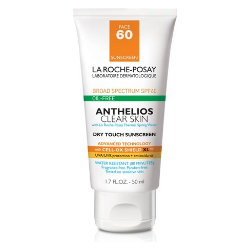 La Roche Posay Anthelios Clear Skin Oil Free Dry Touch Sunscreen Lotion - SPF 60 - 1.7oz - image 1 of 3
