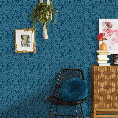 Layered Leaves Peel & Stick Wallpaper - Opalhouse™