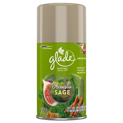 Glade Acoustic Sage Automatic Spray Refill - 6.2oz
