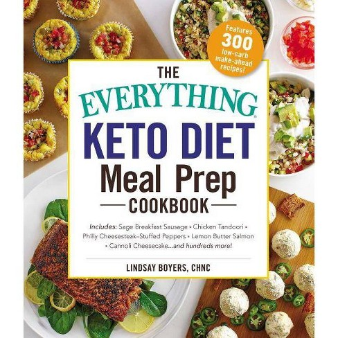 The Everything Keto Diet Meal Prep Cookbook - (Everything(r)) by  Lindsay Boyers (Paperback) - image 1 of 1