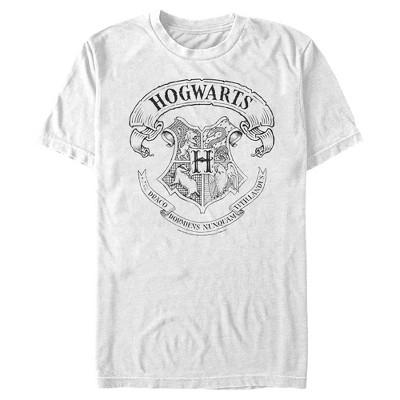 Men's Harry Potter Hogwarts 4 House Crest T-Shirt