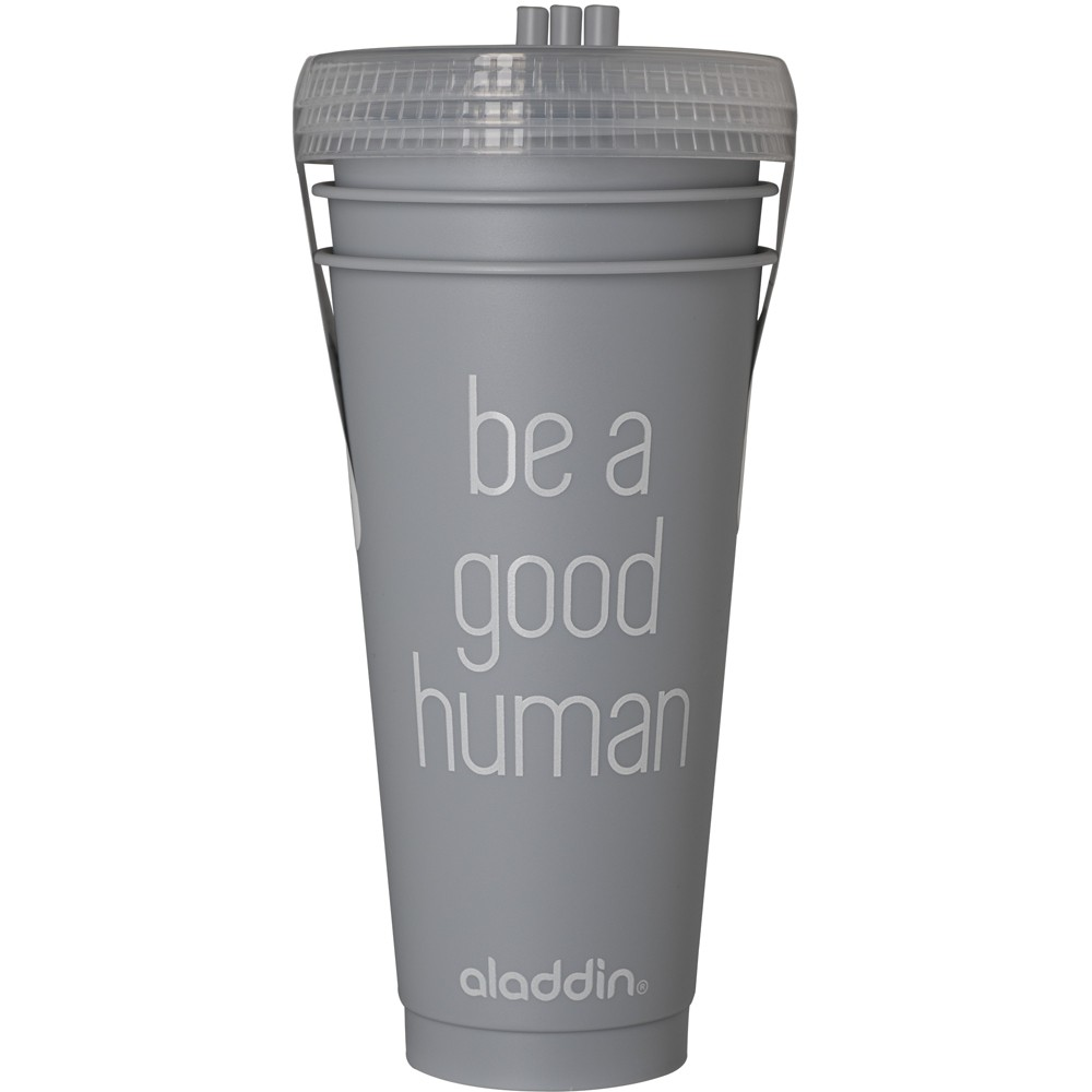 Image of Aladdin Reusable Water Bottle 24oz - Gray - Set of 3