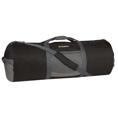 """Outdoor Products 10"""" Utility Duffel Daypack - Black"""