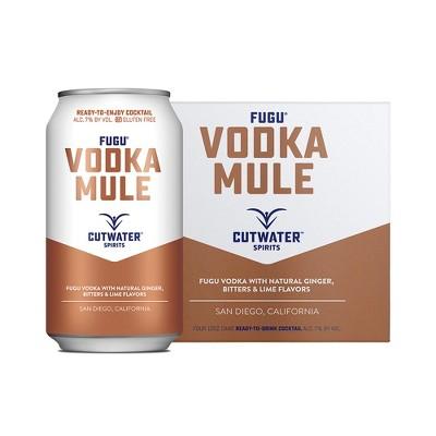 Cutwater Fugu Vodka Mule Cocktail - 4pk/12 fl oz cans