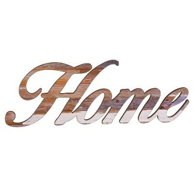 Home Wall Sign (10 x28 )- VIP Home & Garden