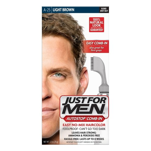 Just For Men AutoStop Light Brown A-25 - image 1 of 2