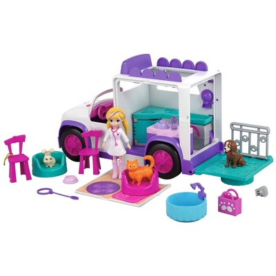 Polly Pocket Playtime Pets Adventure Pack Playset