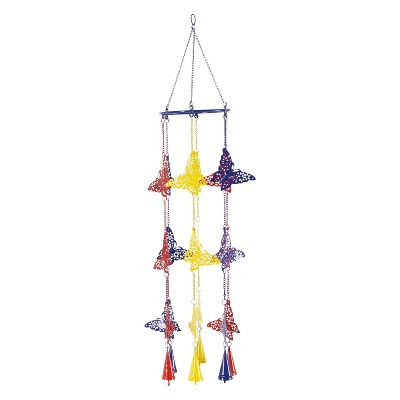 34 H Iron Wind Chime - Olivia & May