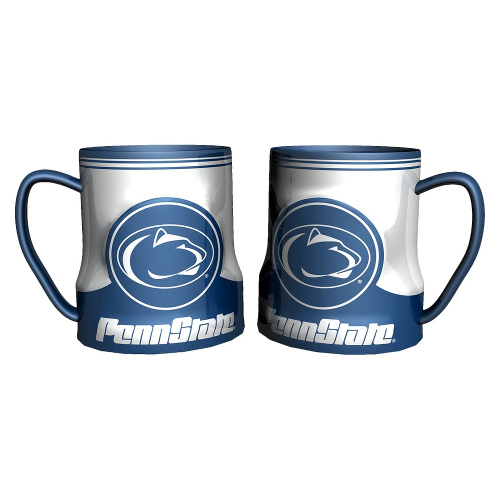 Penn State Nittany Lions Boelter Brands 2 Pack Game Time Coffee Mug - Blue/ White (20 oz), Multi-Colored