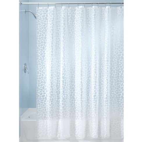 Set Of 2 Pebblz Peva Shower Curtain Liners White Idesign Target