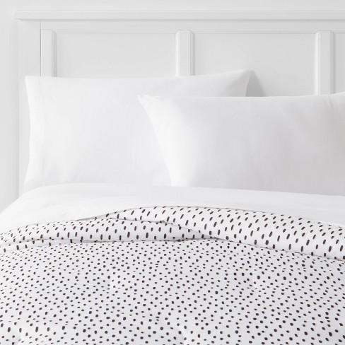 Reversible Microfiber Dot Comforter - Room Essentials™ - image 1 of 4