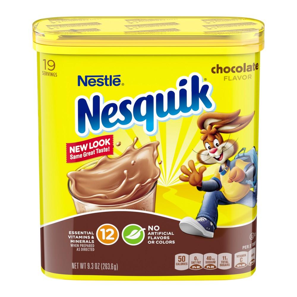 Nestle Nesquik Chocolate Flavor Powder - 9.3oz