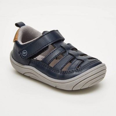 Baby Surprize by Stride Rite Piper Fisherman Sandals - Navy