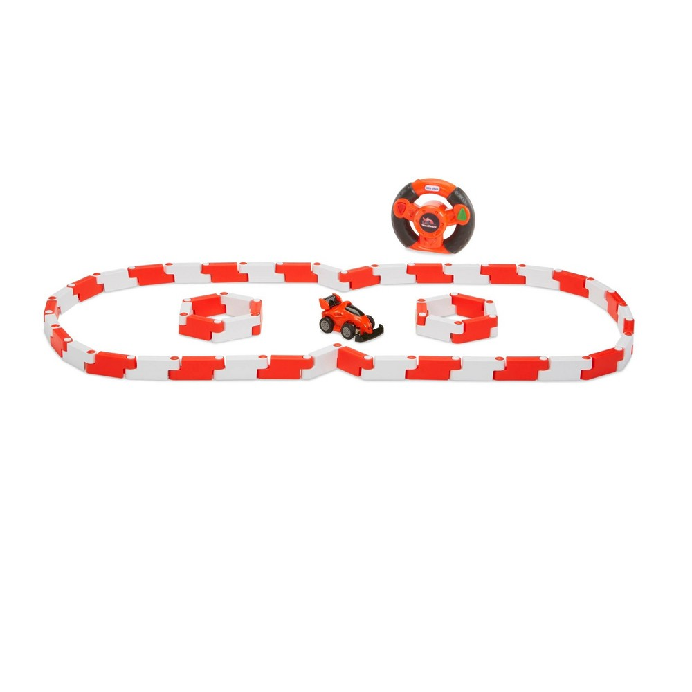 Little Tikes YouDrive Flex Tracks Red Race Car with Easy Steering RC