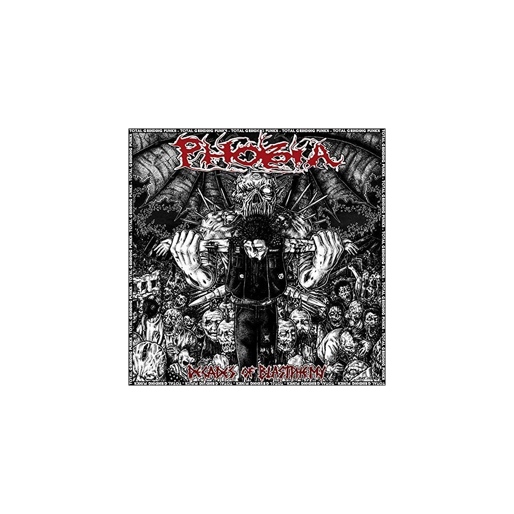 Phobia - Decades Of Blastphemy (CD)