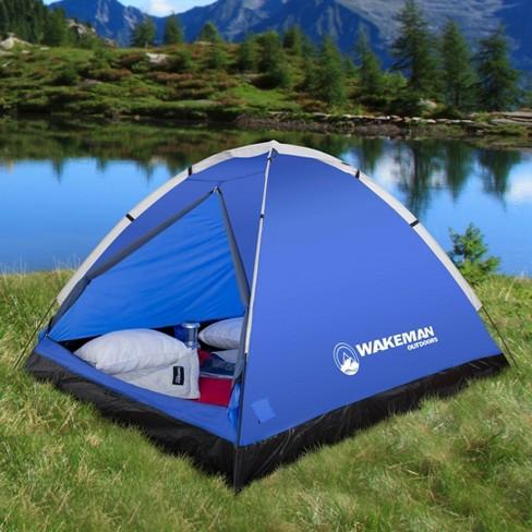 de09bb4c8 Wakeman 2-Person Water Resistant Dome Tent - Blue/Gray