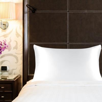 400 Thread Count Standard Size 100% Mulberry Silk Pillowcase White - PiccoCasa