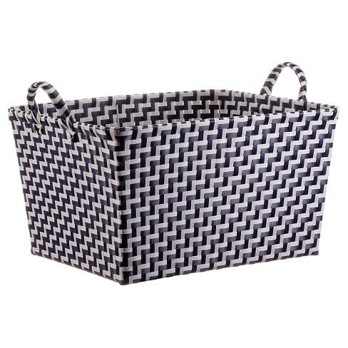 Rectangle Weave Decorative Toy Storage Basket - Pillowfort™ - image 1 of 1