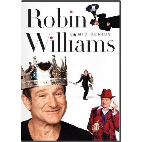 Robin Williams Comic Genius: 5-DVD Collection - image 1 of 1