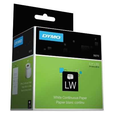 DYMO LabelWriter Continuous-Roll Receipt Paper 3 1/2 x 300 White 30270
