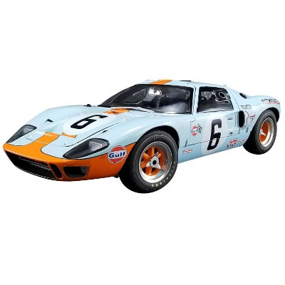 """1969 Ford GT40 MKI #6 """"Gulf"""" 1969 Le Mans Champion Ltd Ed to 296 pcs 1/12 Diecast Model Car by GMP for ACME"""