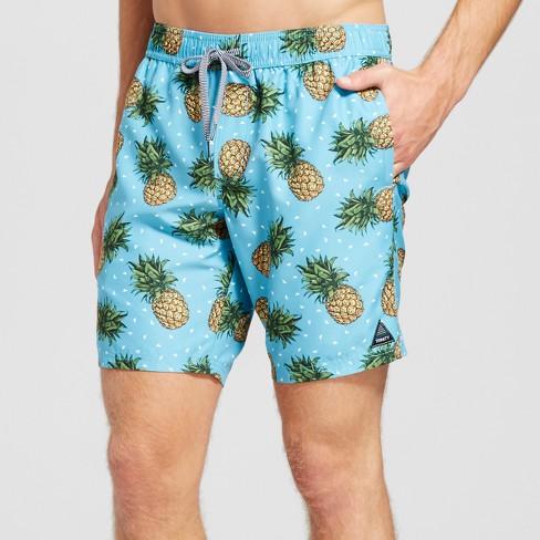 16405d2a6c Men's Pineapple Print Swim Trunks 8