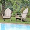 Sherwood Teak Adirondack Chair - Cambridge Casual - image 3 of 4