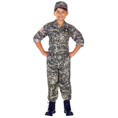 Kids' US Army Camo Halloween Costume