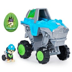 PAW Patrol Dino Rescue Rex's Deluxe Rev Up Vehicle with Mystery Dinosaur Figure