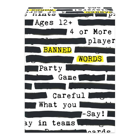 Banned Words Board Game Target