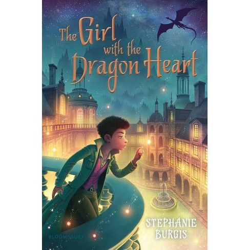 The Girl with the Dragon Heart - by  Stephanie Burgis (Hardcover) - image 1 of 1
