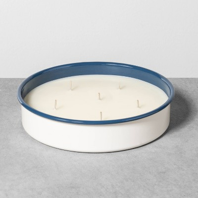 21oz Outdoor Enamel Candle Fern - Hearth & Hand™ with Magnolia