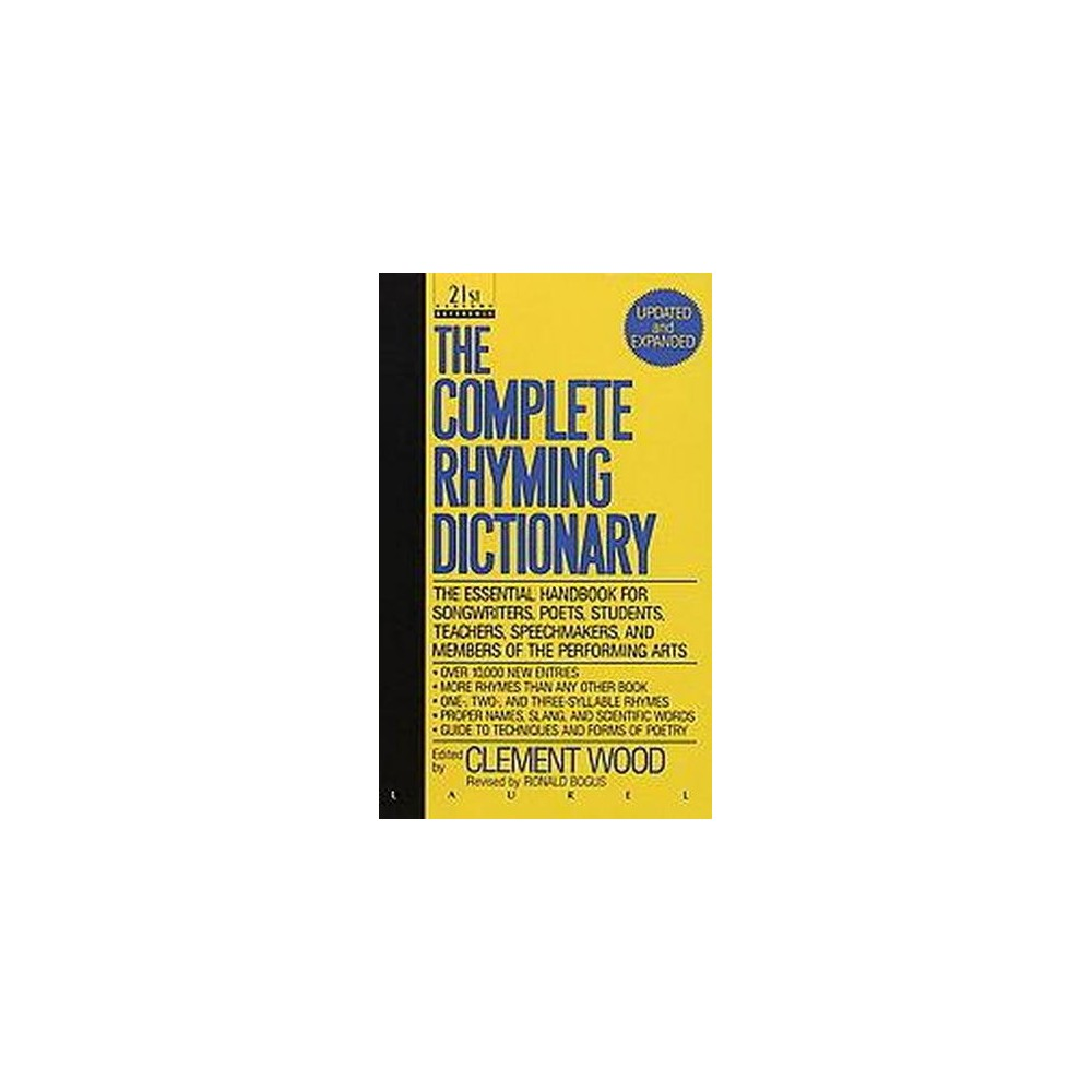 Complete Rhyming Dictionary (Revised) (Paperback) (Clement Wood)
