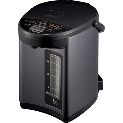 Zojirushi CD-NAC40BM Micom Water Boiler & Warmer - Metallic Black