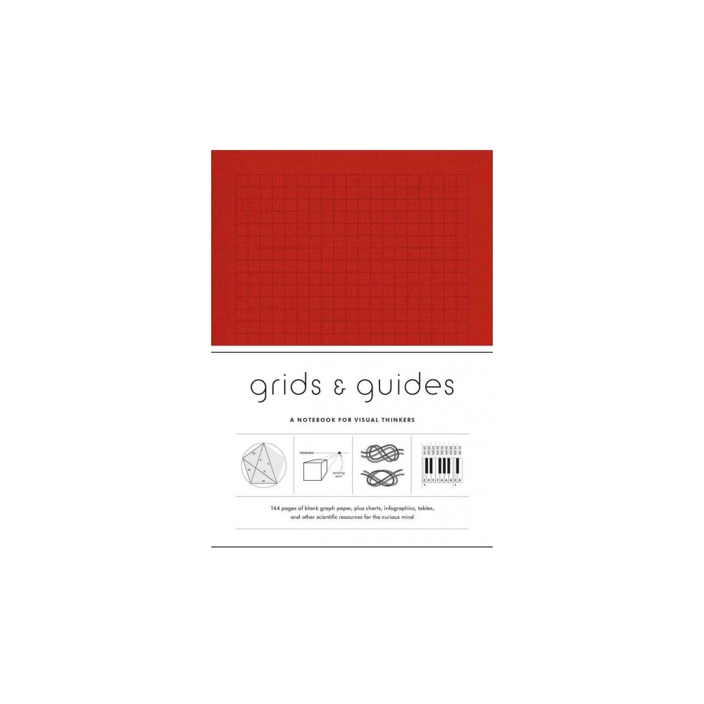 Grids & Guides - Red : A Notebook for Visual Thinkers (Paperback)