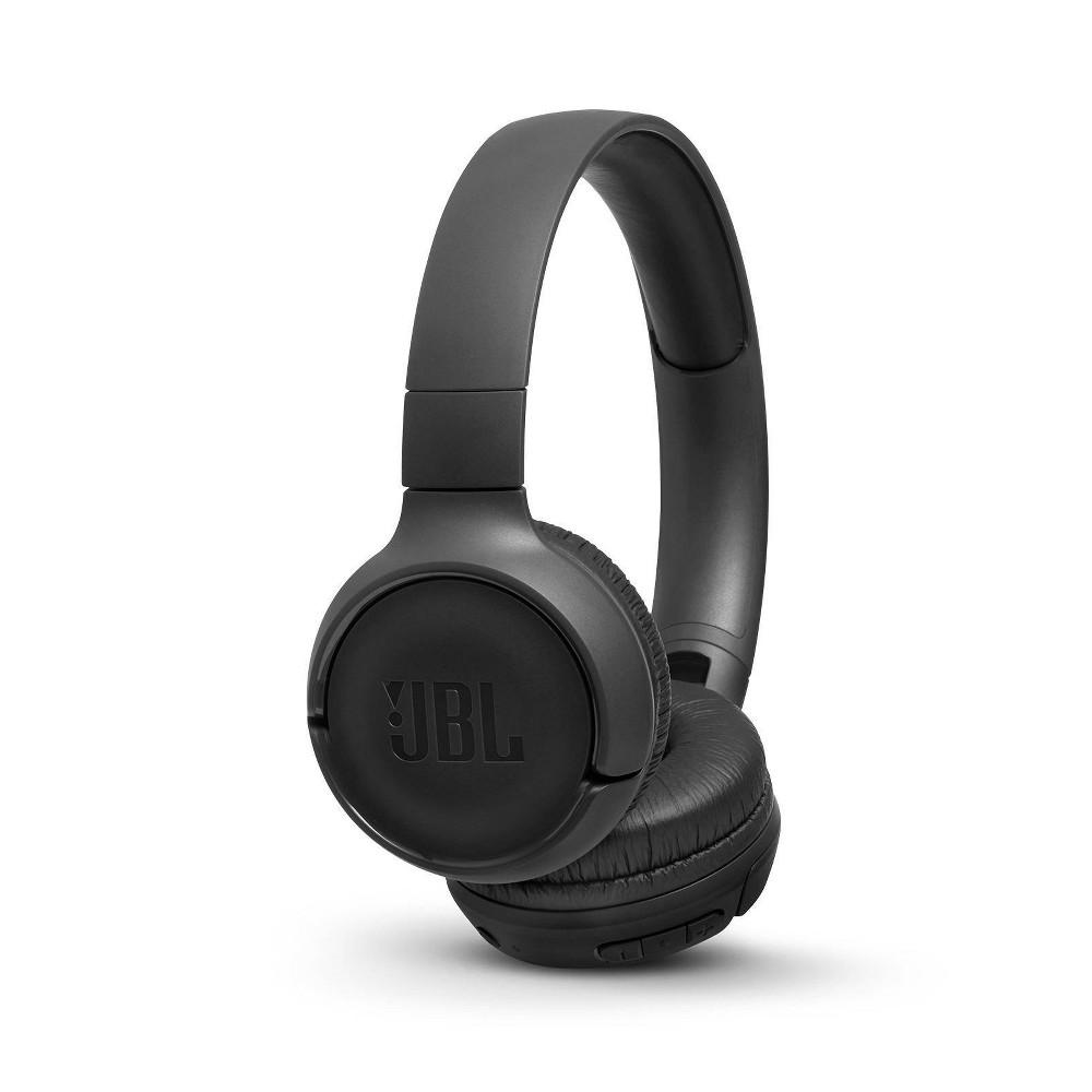 JBL Tune 500 Wireless On-Ear Headphones - Black